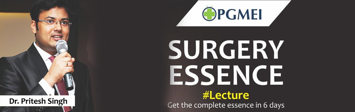 SURGERY ESSENCE Lecture (6 Days) by Dr. Pritesh