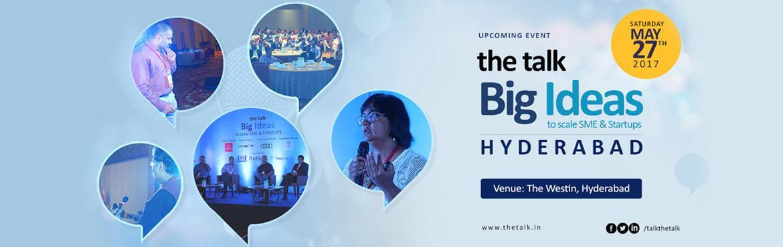 the talk - Big Ideas Hyderabad 2017