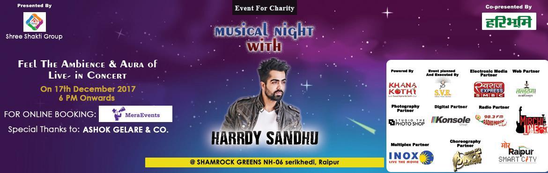 Musical Night with Harrdy Sandhu