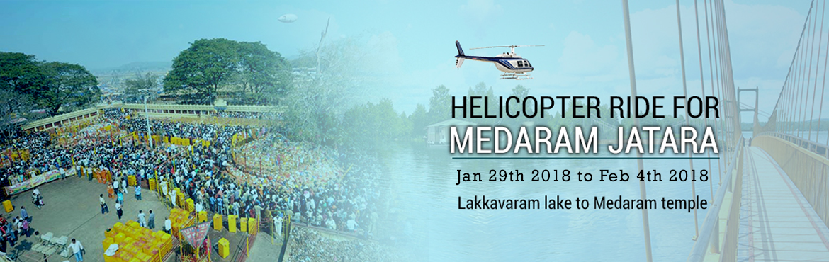 Helicopter Ride for Medaram Jatara Pilgrims