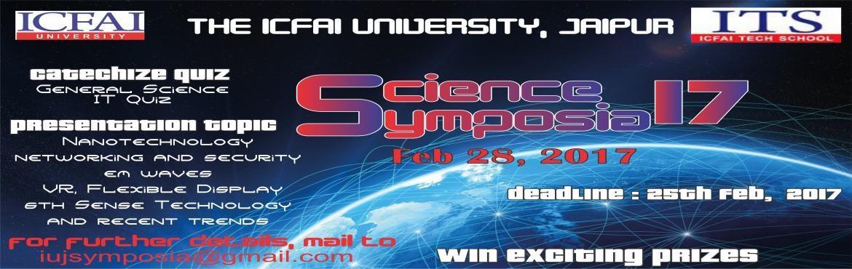 Science Symposia 17
