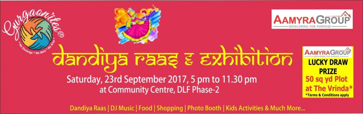 Dandiya Raas and Exhibition 2017 by Gurgaonites Ev