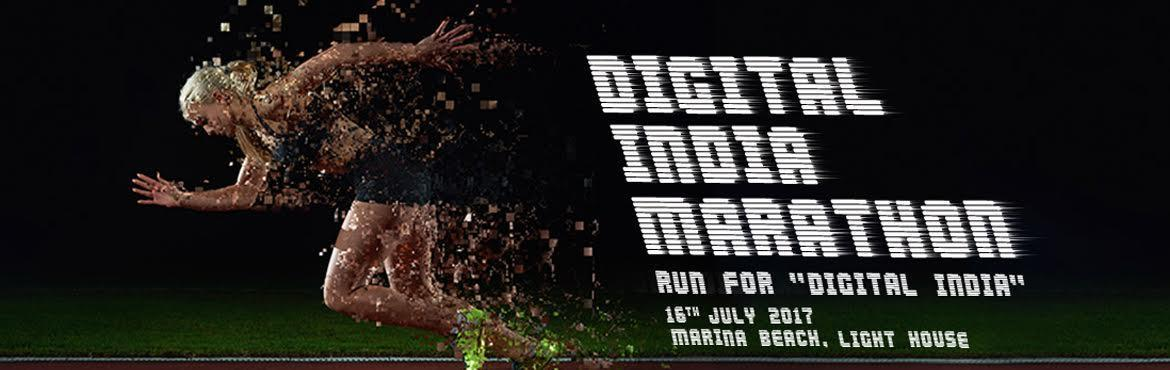DIGITAL INDIA MARATHON - RUN FOR DIGITAL INDIA