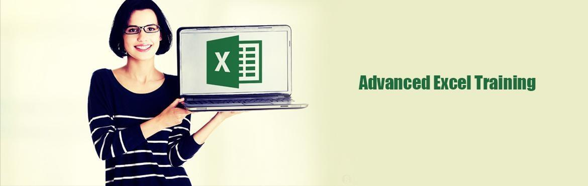 Advanced Excel Training conducted by professionals