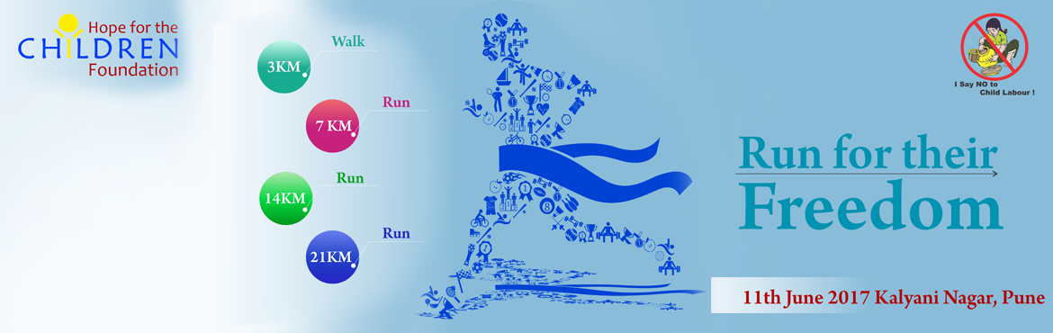 Run for their Freedom -World Day against Child
