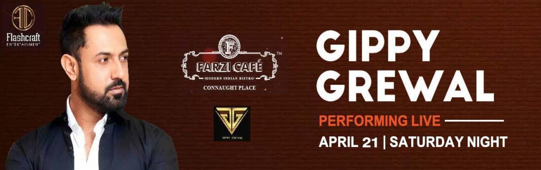 Gippy Grewal Live at Farzi Cafe CP