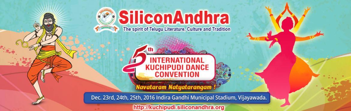 SiliconAndhra - 5th International Kuchipudi Dance