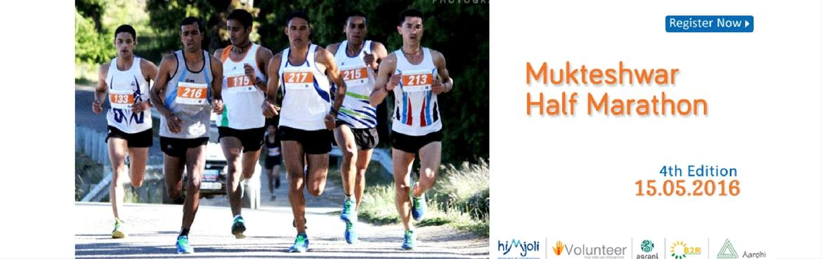 Mukteshwar Half Marathon 5th Edition, 14th May 201