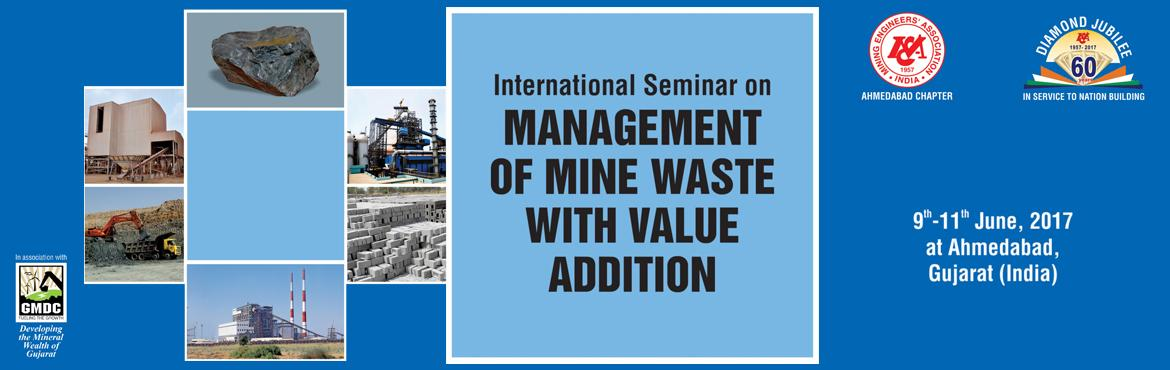 International Seminar on Management of Mine Waste