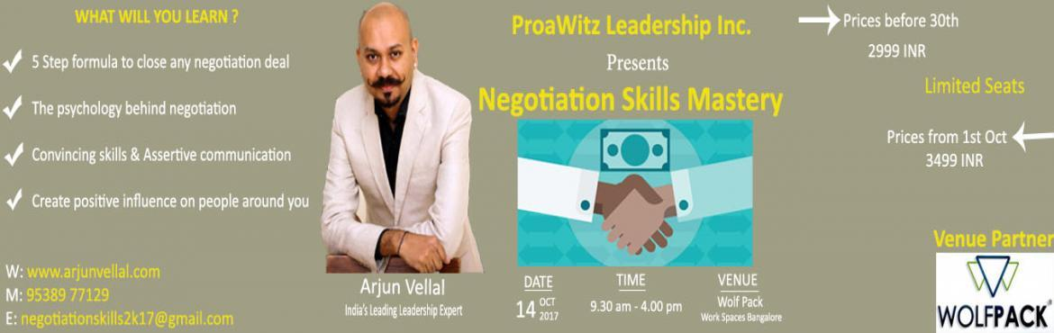 Negotiation Skills Mastery