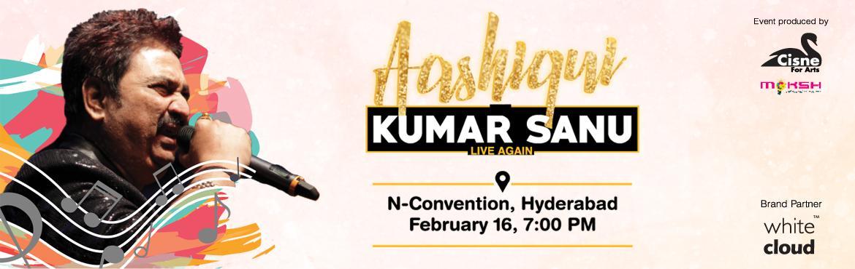 Aashiqui by Kumar Sanu Live again@ Hyderabad