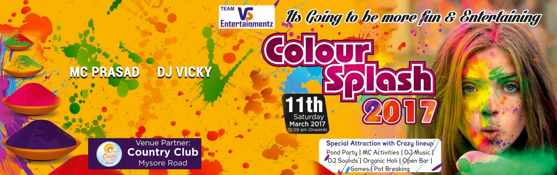 Colour Splash 2017