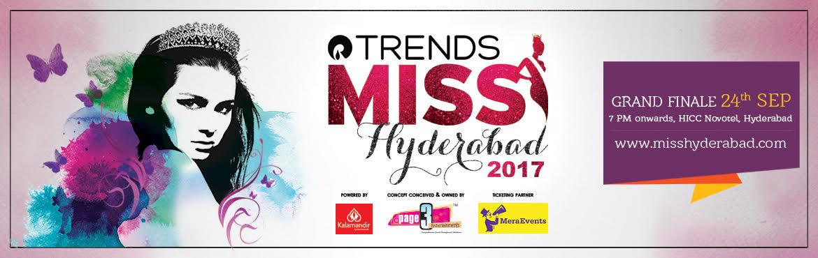 Trends Miss Hyderabad 2017 - Grand Finale 24th Sep