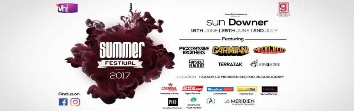 Summer Festival 2017 - The Sun Downer