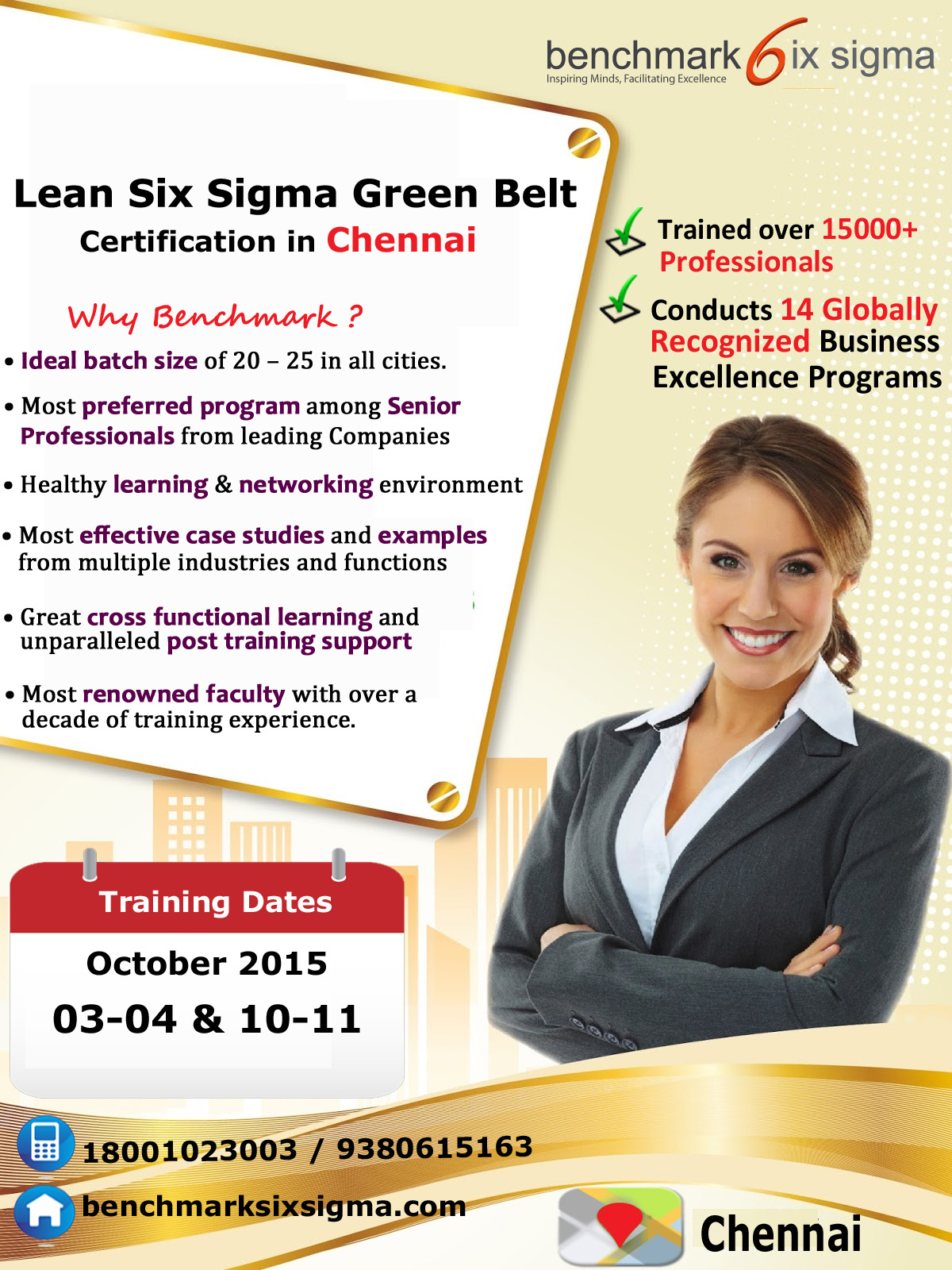 Lean Six Sigma Training Certification Program In Chennai